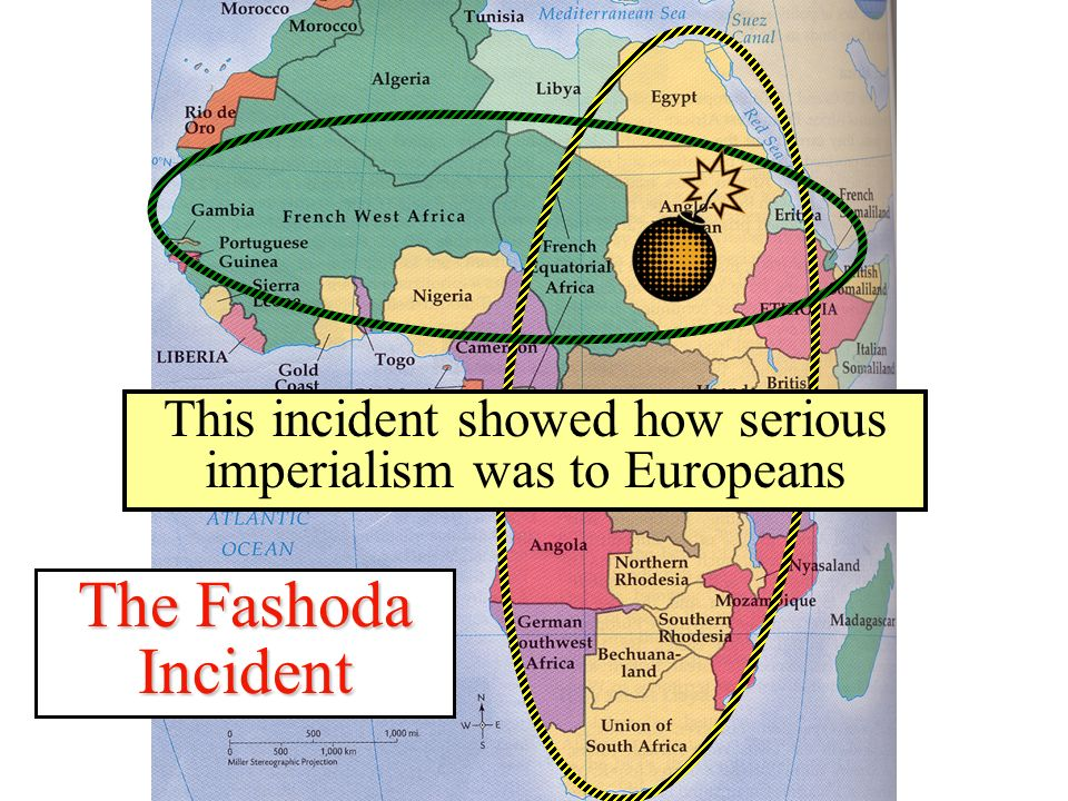 This incident showed how serious imperialism was to Europeans