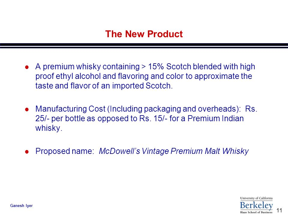 Mcdowell S Vintage Premium Malt Whisky Integrating The
