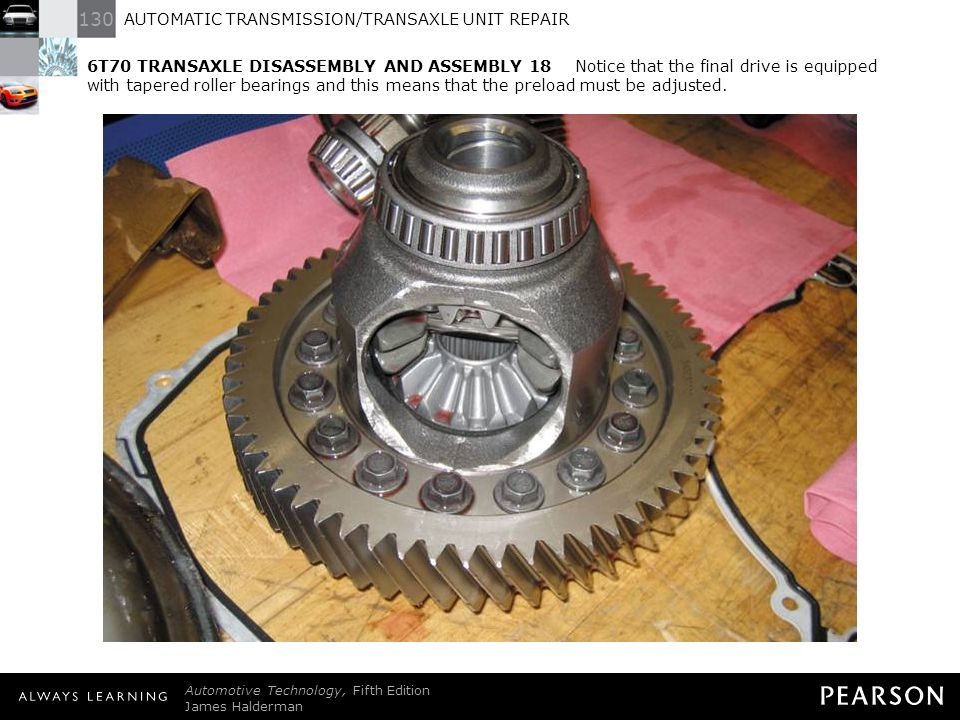 4t60e differential removal