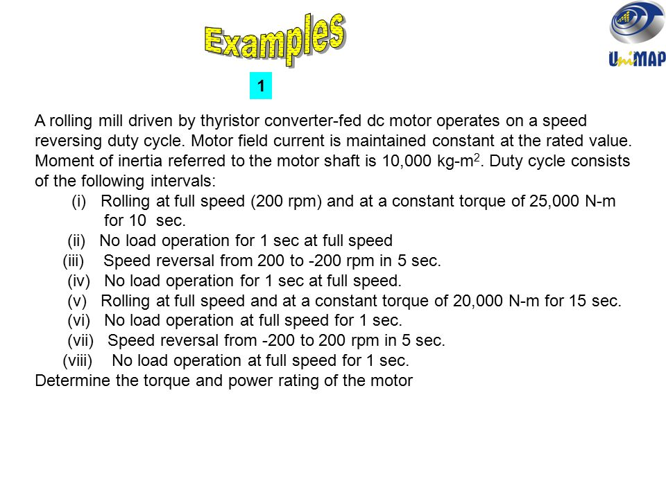 DYNAMICS OF ELECTRIC DRIVES - ppt video online download