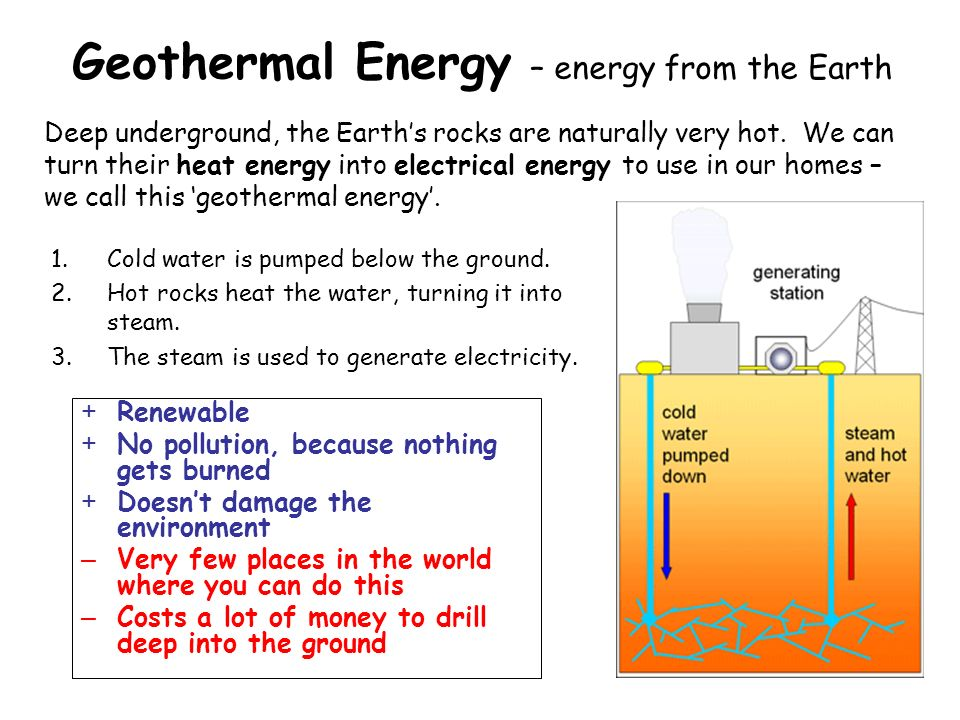 geothermal energy advantages and disadvantages pdf