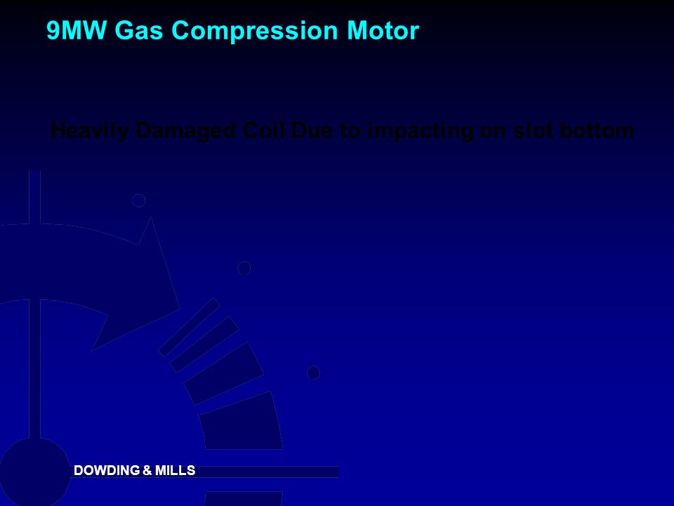 9MW Gas Compression Motor