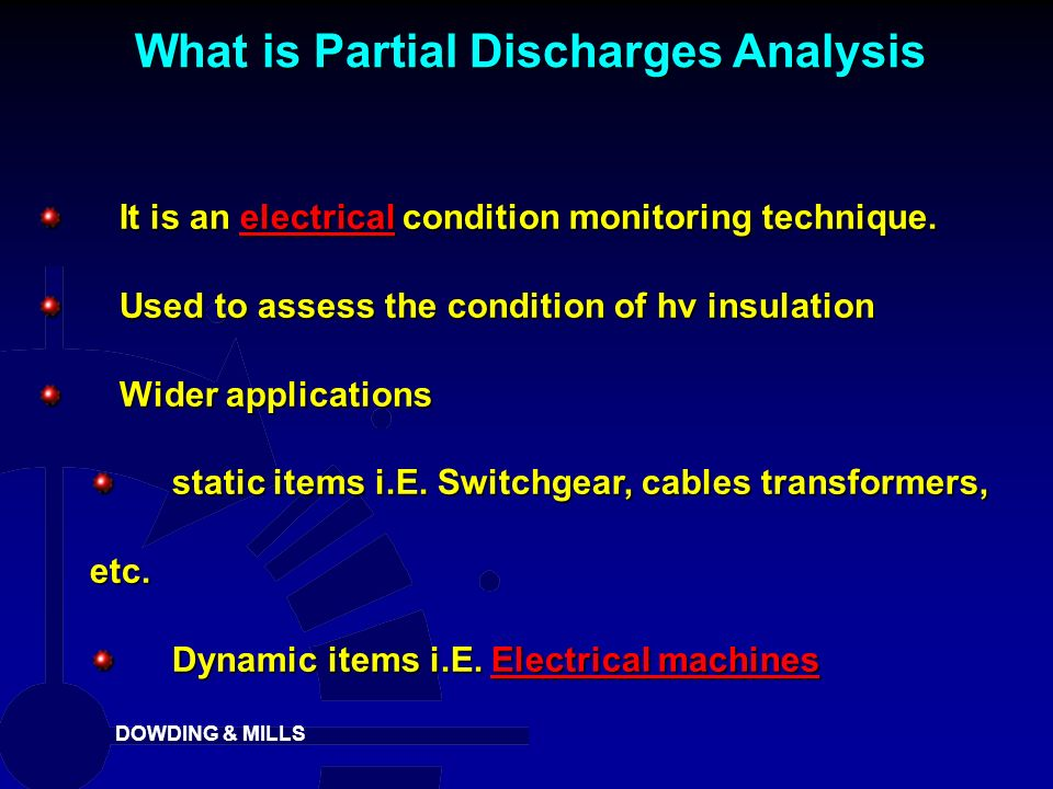 What is Partial Discharges Analysis