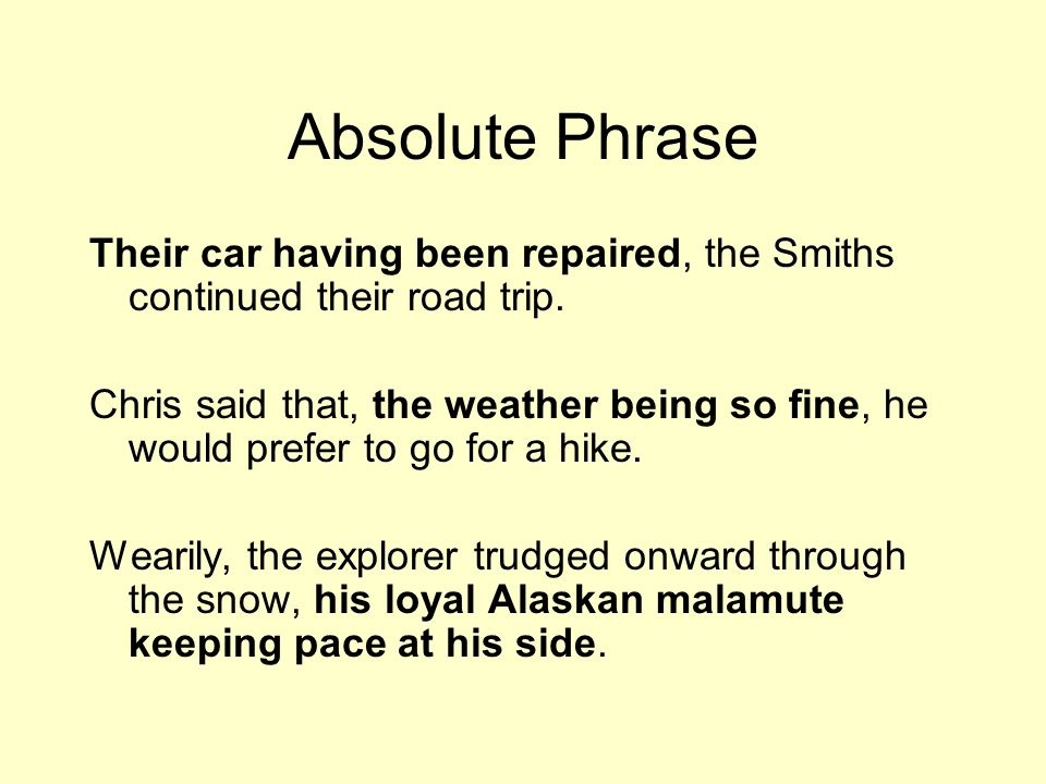 Types Of Phrases There Are Numerous Types Of Phrases Ppt Video