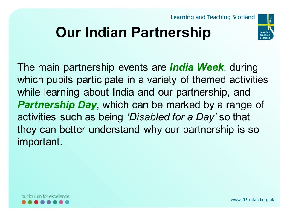 Our Indian Partnership