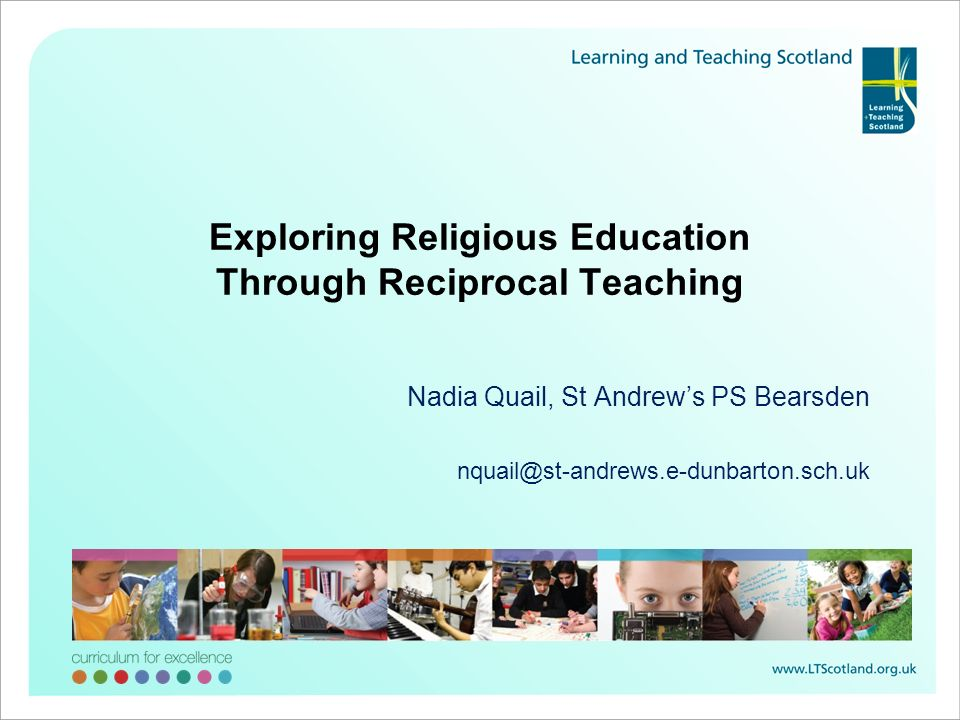 Exploring Religious Education Through Reciprocal Teaching
