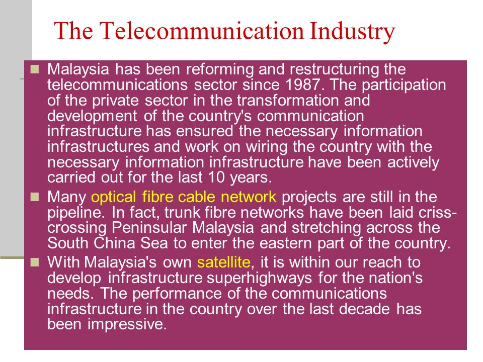 telecommunication industry in malaysia