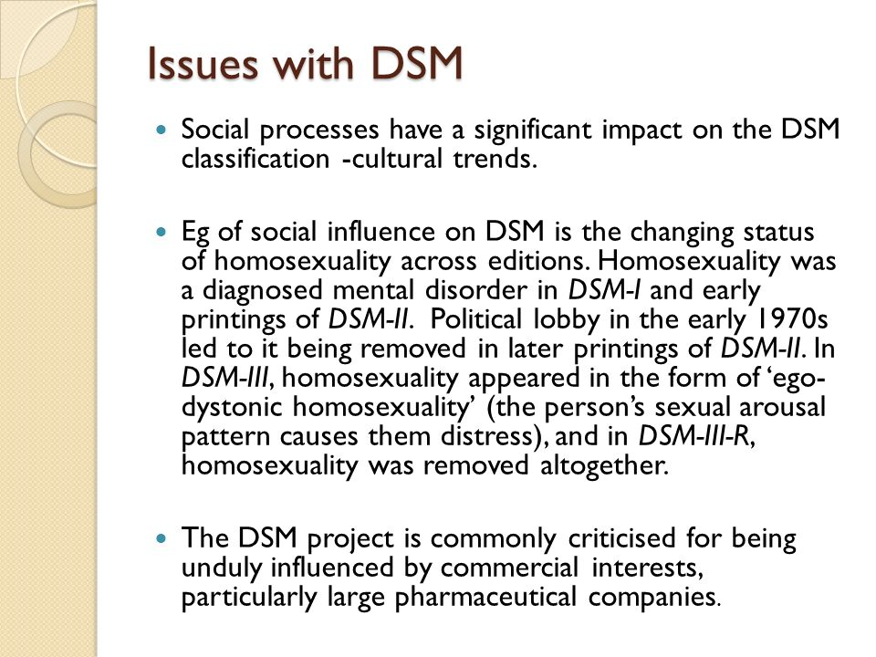 Homosexuality dsm removed year