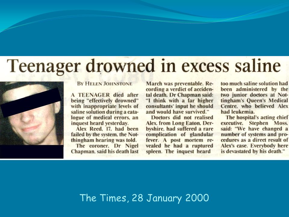 The Times, 28 January 2000