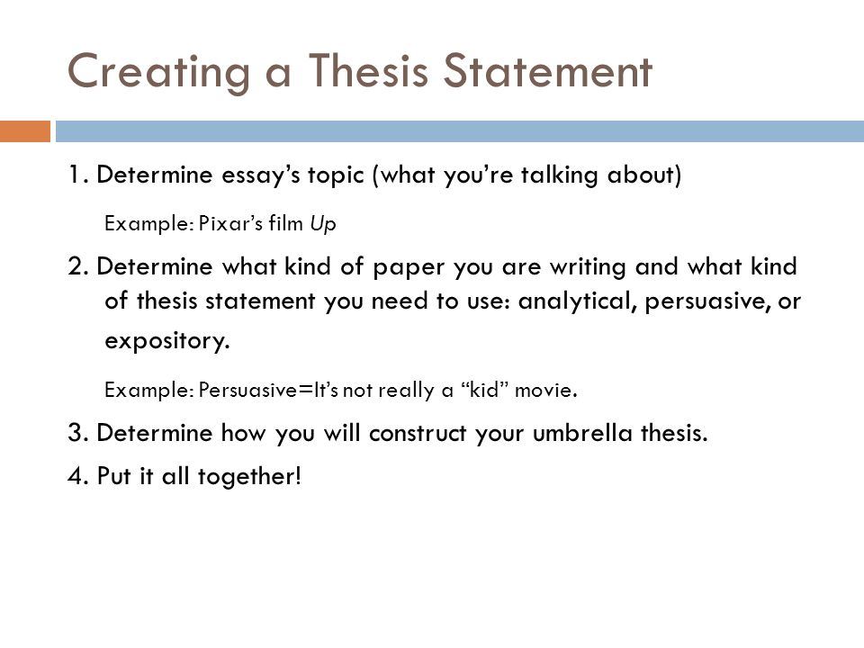 bellwork thesis statement write your thesis statement for your  creating a thesis statement