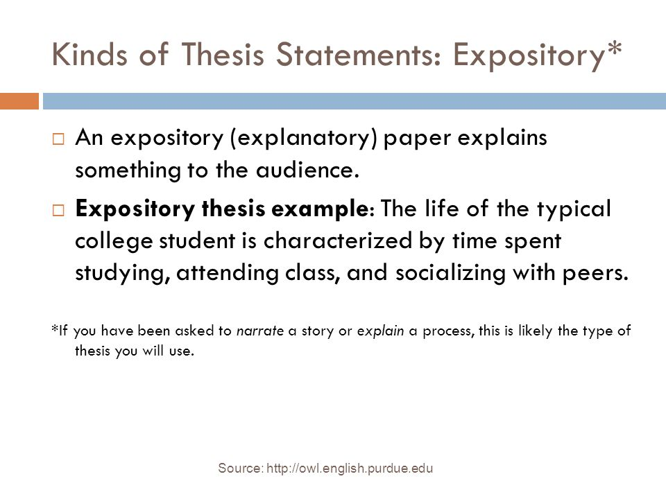 Bellwork Thesis Statement Write Your Thesis Statement For Your  Kinds Of Thesis Statements Expository