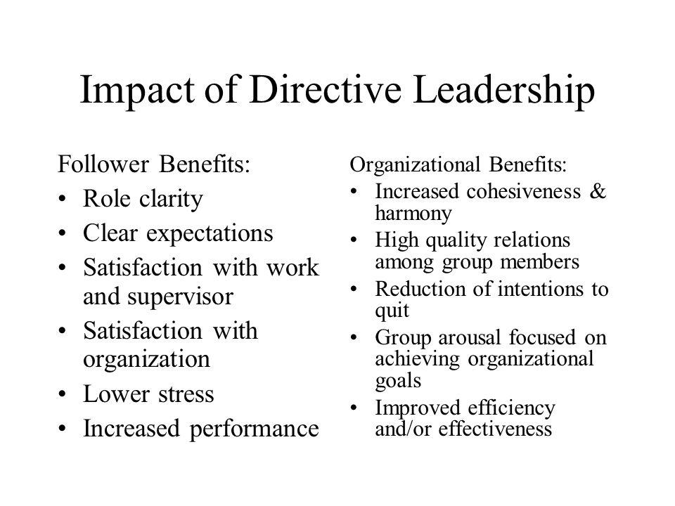directive leadership