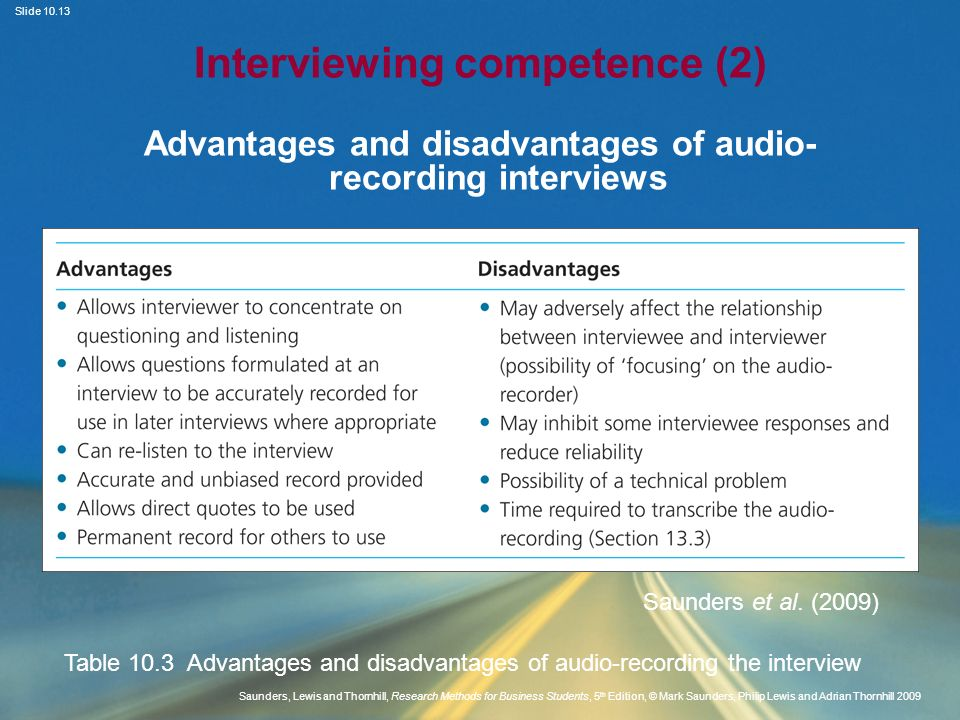 Interviewing competence (2)