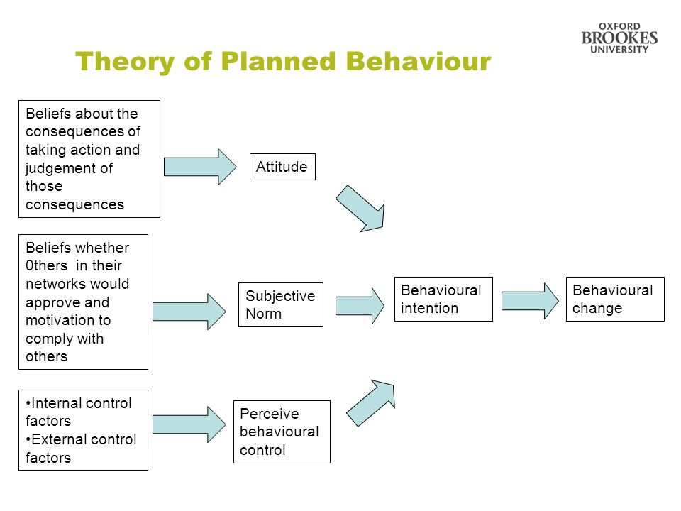theory of planned behavior pdf