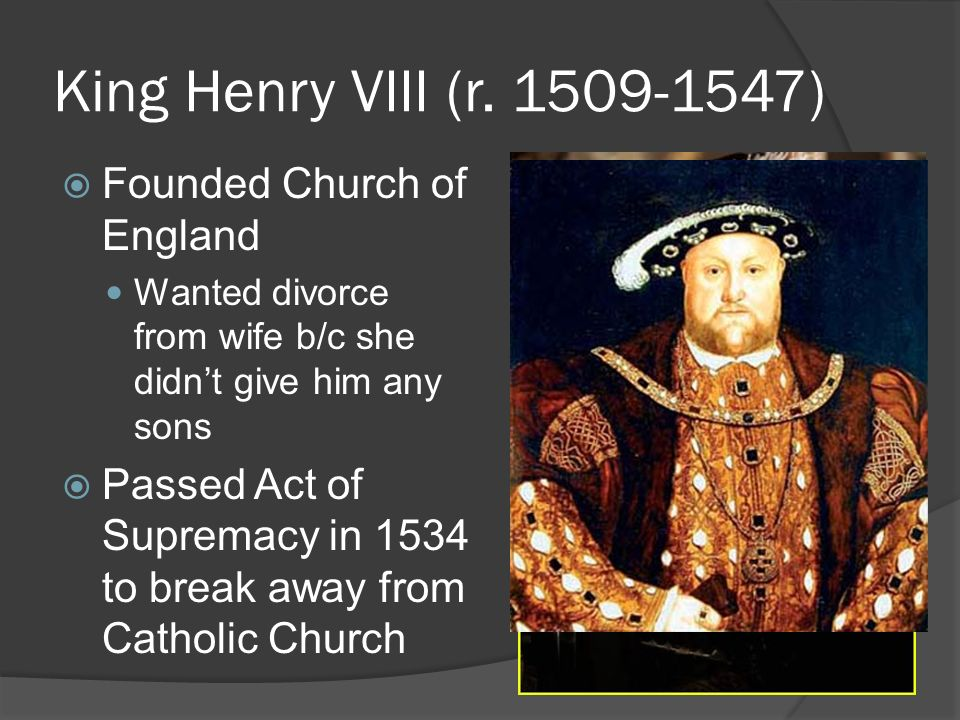 henry viii and the reformation