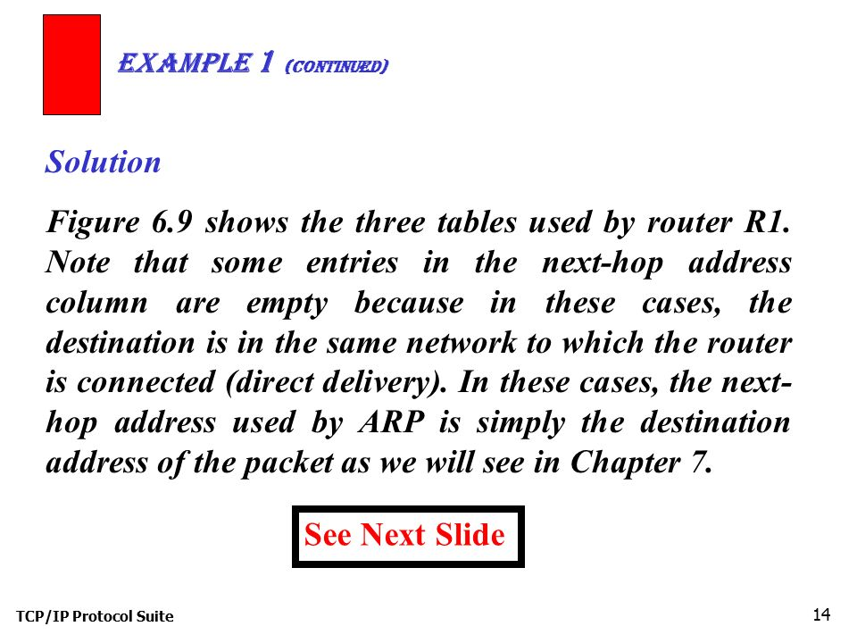 Example 1 (Continued) Solution.