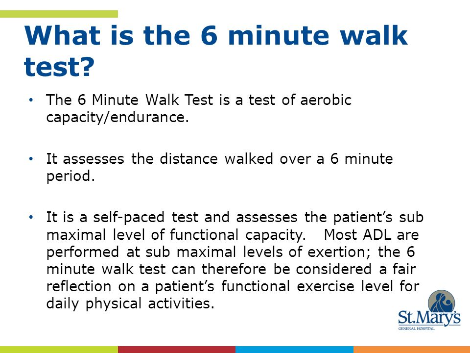 What Is The 6 Minute Walk Test