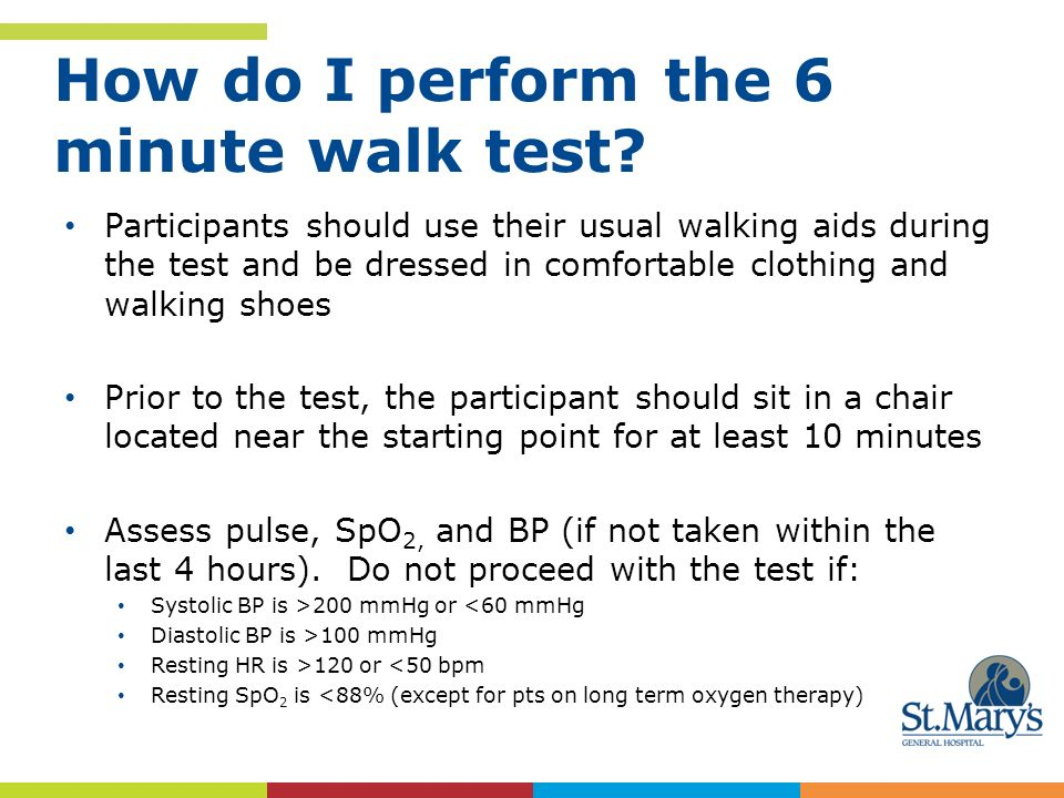 How Do I Perform The 6 Minute Walk Test