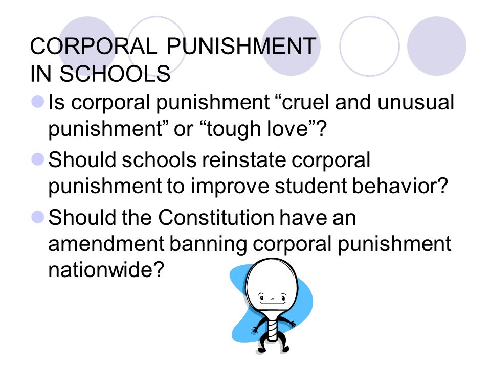 corporal punishment should be illegal