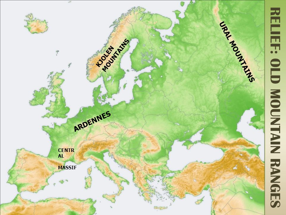 PHYSICAL EUROPE. - ppt video online download