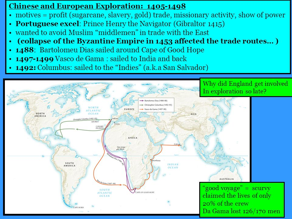 european exploration and trade By the end of the age of exploration, spain would rule from the southwestern united states to the southernmost reaches of chile and argentina opening the americas great britain and france also began seeking new trade routes and lands across the ocean.