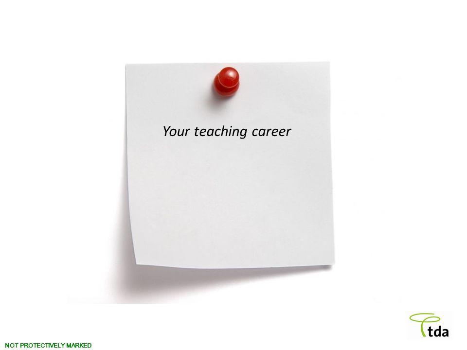Your teaching career
