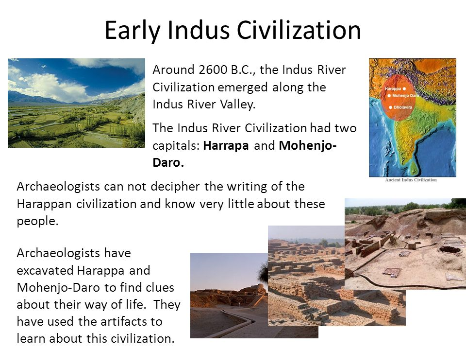 Early Indus Civilization