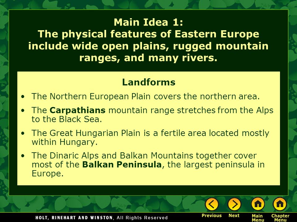 Chapter 19 – Eastern Europe - ppt video online download