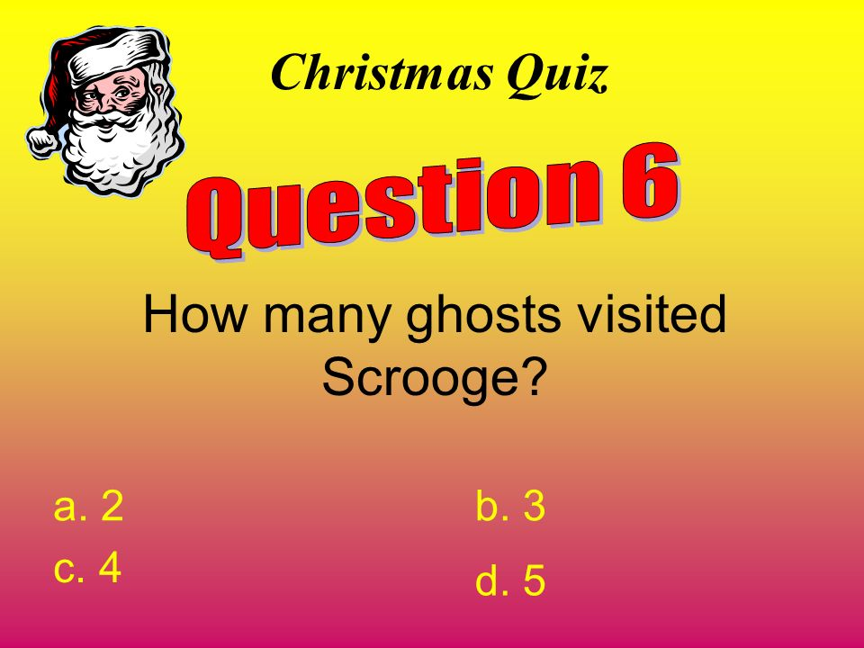 How many ghosts visited Scrooge