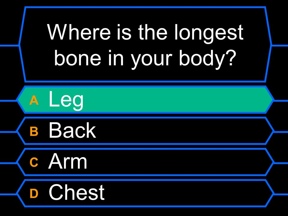 Where is the longest bone in your body