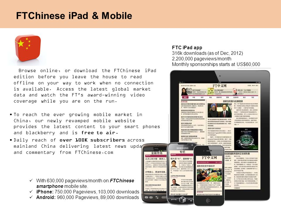 FTChinese iPad & Mobile