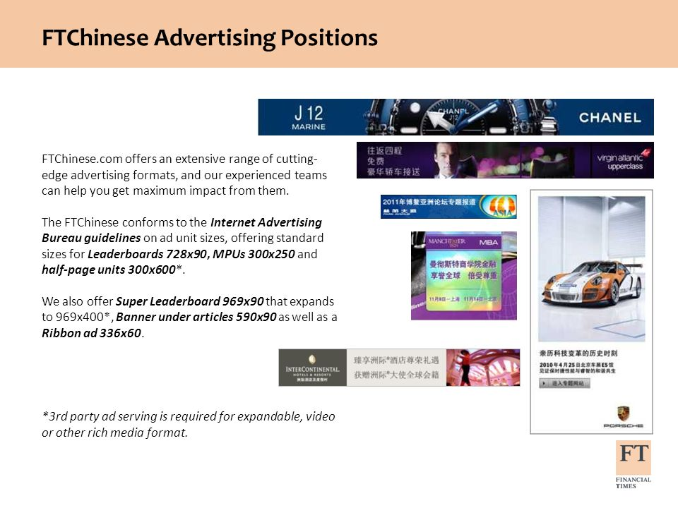FTChinese Advertising Positions