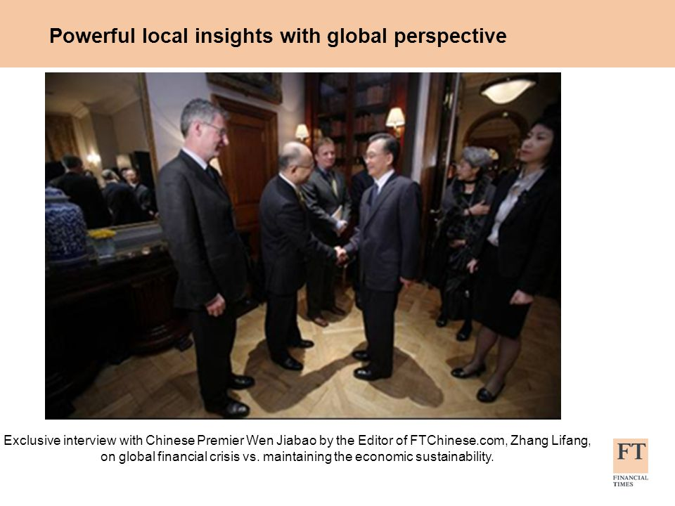 Powerful local insights with global perspective