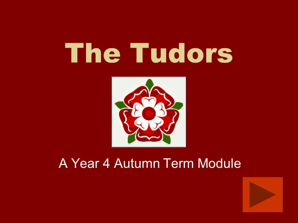 A Year 4 Autumn Term Module