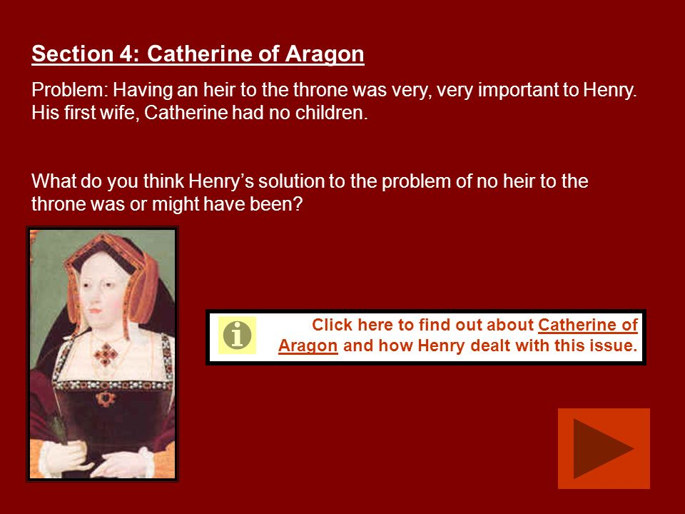 Section 4: Catherine of Aragon
