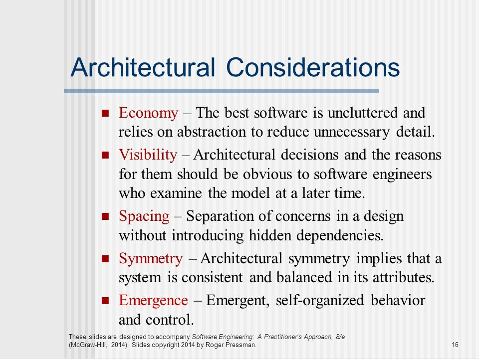 Chapter 13 Architectural Design - ppt video online download