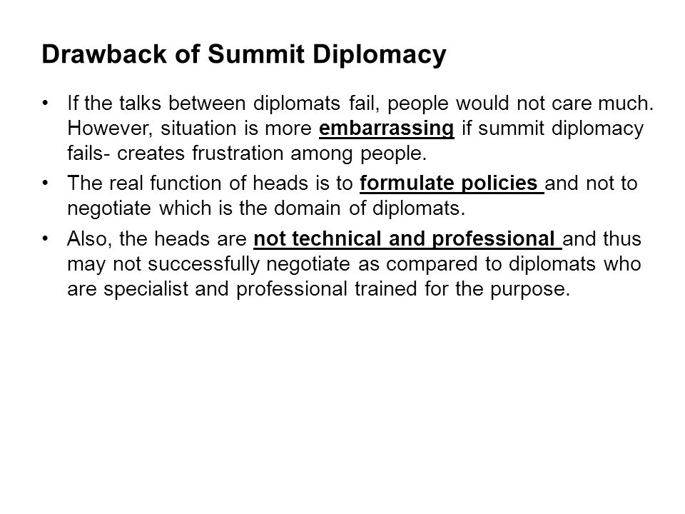 Review of Previous Lecture- Diplomacy - ppt video online