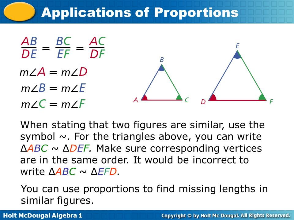 Similar Figures Have Exactly The Same Shape But Not Necessarily The