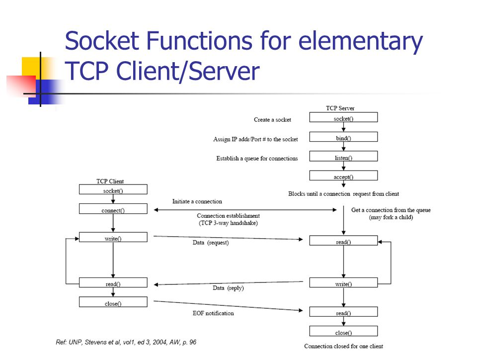 Elementary TCP Sockets - ppt video online download