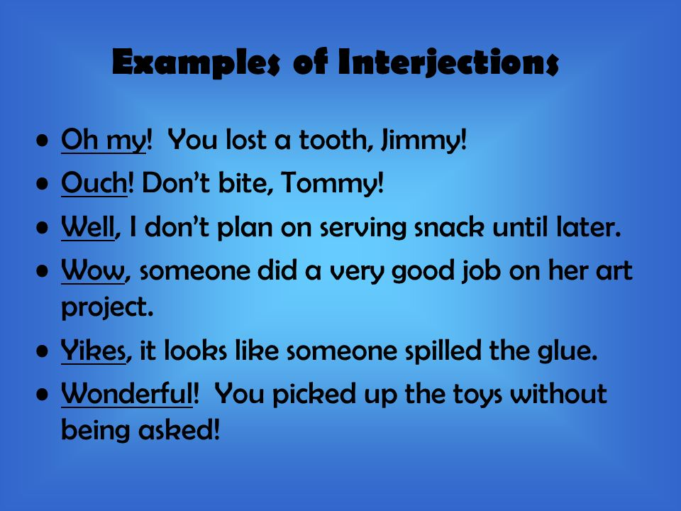 Conjunctions And Interjections Ppt Video Online Download