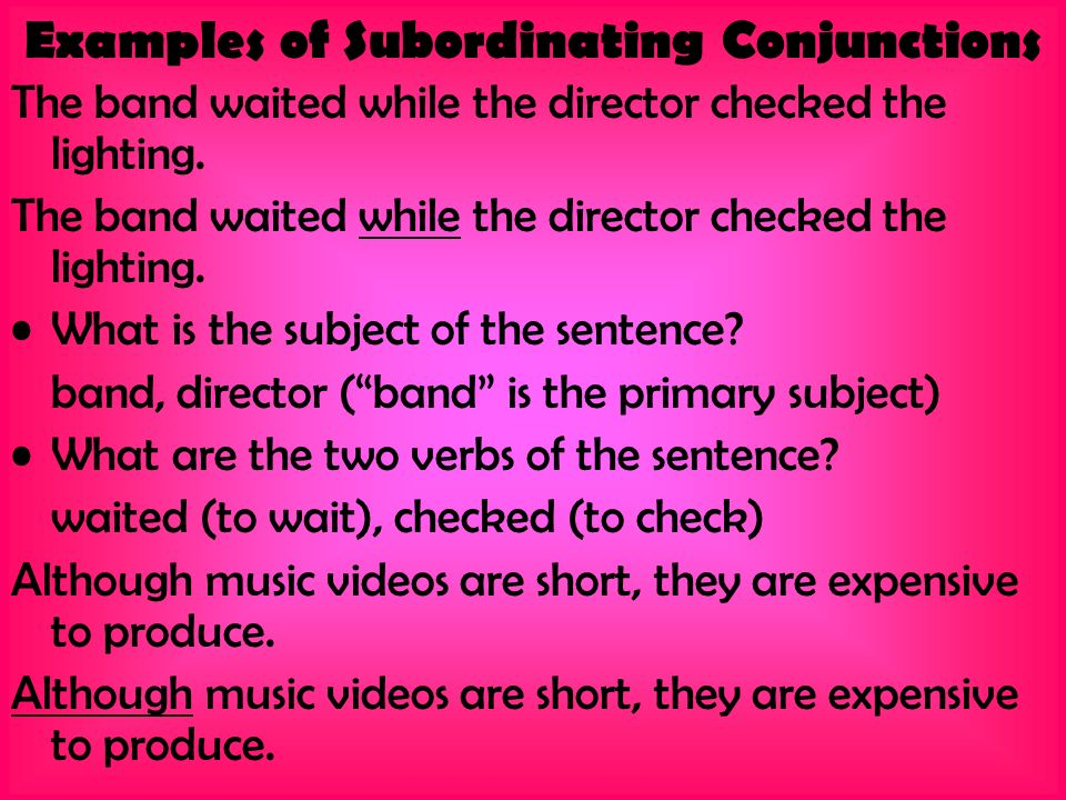 Conjunctions and Interjections! - ppt video online download