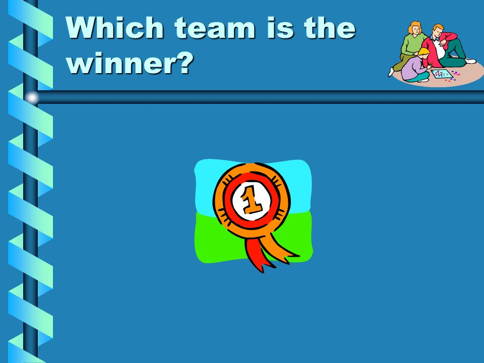 Which team is the winner