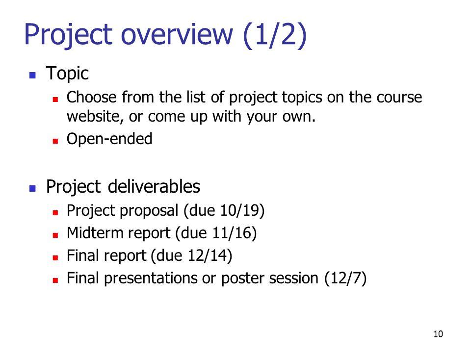biology proposal topics