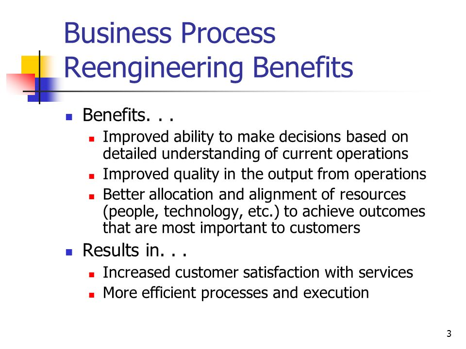 Business process re-engineering powerpoint template   sketchbubble.