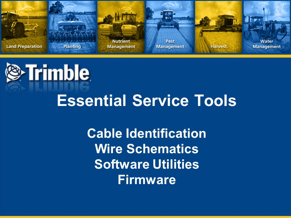 Autopilot Product Offering Updates Ppt Video Online Download - Trimble 750 wiring diagram