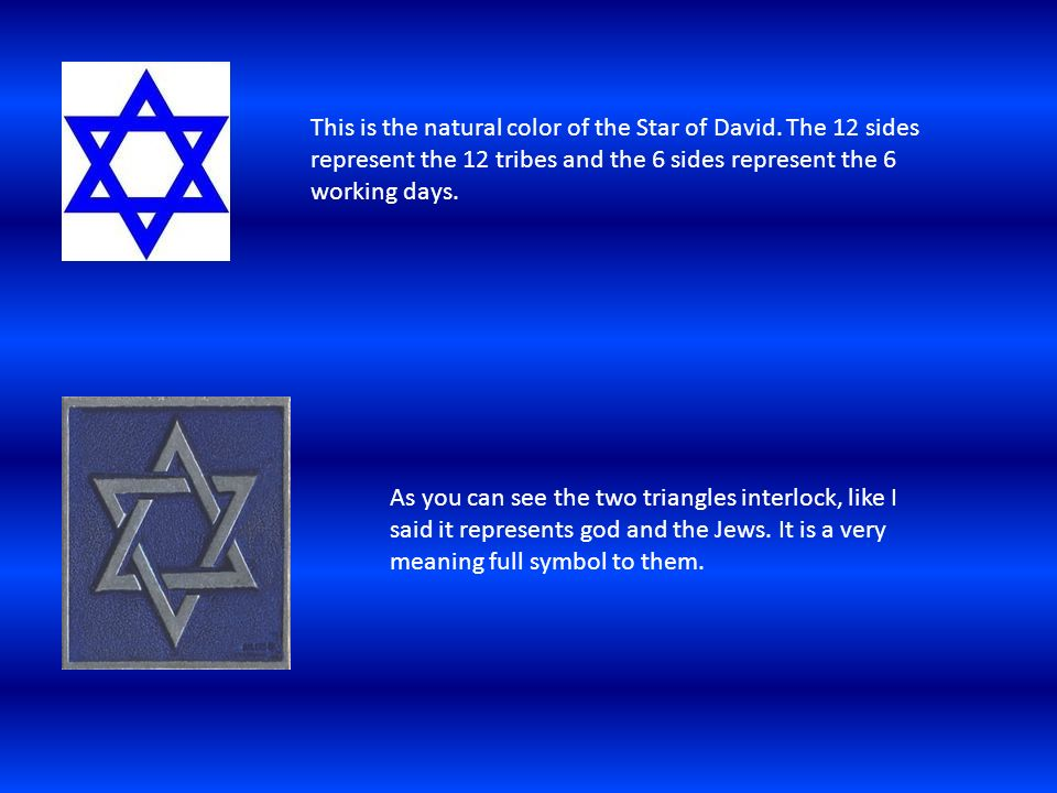 The Star Of David By Kadie Lee Ppt Download