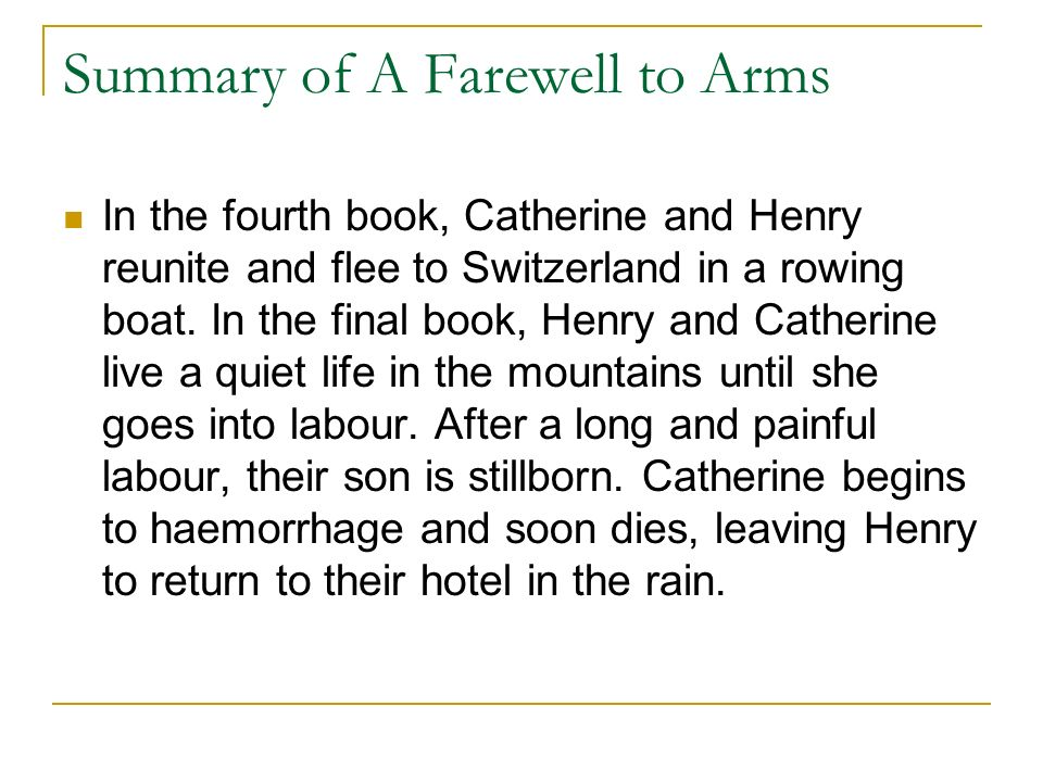 a farewell to arms the meaning Ernest hemingway's classic novel, a farewell to arms, is one of the greatest love and war stories of all time theme is defined as a main idea or an underlying india s contribution to world unity essay meaning of a literary work which may home free essays a farewell to arms – love and war.