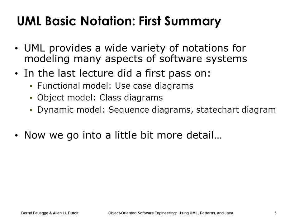 Chapter 2 modeling with uml part 2 ppt download uml basic notation first summary ccuart Choice Image