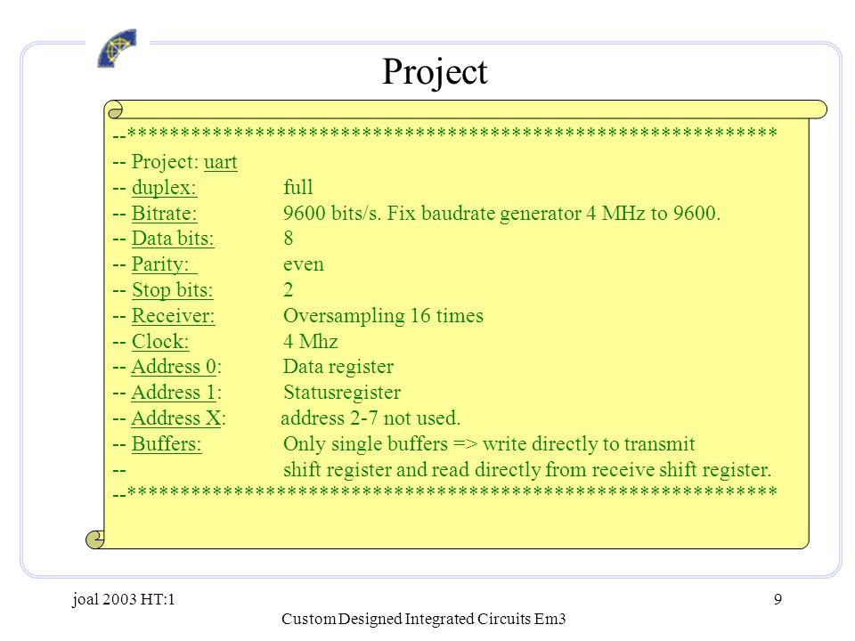 Custom Designed Integrated Circuits Em3 - ppt video online