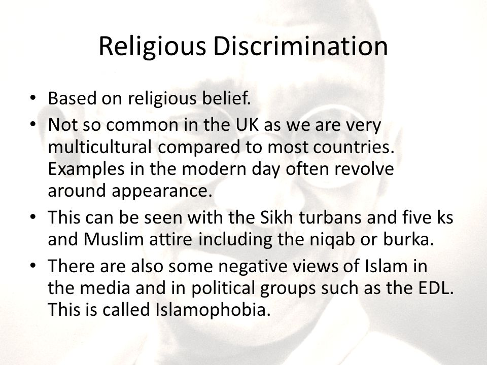 examples of religious discrimination gallery - resume cover letter